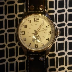Large face ALDO watch UNISEX